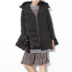 Ultra Modern - Family Matching Hooded Long Padded Coat
