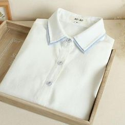 Mushi - Long Sleeve Blouse