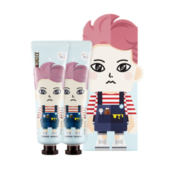 Nature Republic - Hand And Nature Hand Cream - Cotton Baby (EXO Edition - Xiu Min) 2pcs