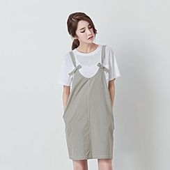 BORAN - Strapped Jumper Skirt