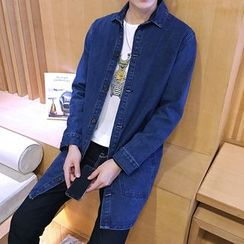 Alvicio - Long Denim Shirt