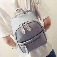 Youshine - Faux Leather Backpack