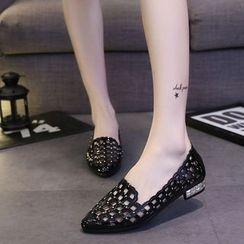 Wello - 鏤空樂福鞋