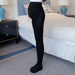 The Mommy Club - Maternity Plain Tights