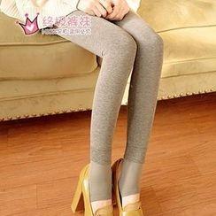 Fitight - Brush-Fleece Stirrup Leggings