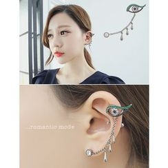 soo n soo - Rhinestone Ear Cuff (Single)