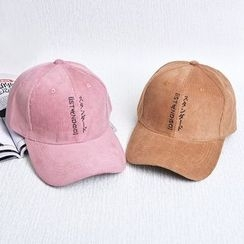 Buttercap - Embroidered Corduroy Baseball Cap