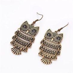 Best Jewellery - Owl Earrings