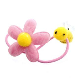 Fit-to-Kill - Pink flower with pretty bee hair band