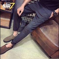 SIRIUS - Cropped Slim Fit Pants