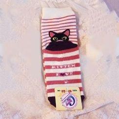 Nikiki - Cat Print Socks