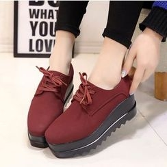 BAYO - 厚底繫帶鞋