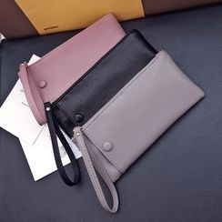 Nautilus Bags - Faux Leather Long Wallet