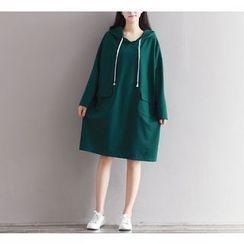 Dream Girl - Long-Sleeve Hooded Dress