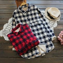 YOYO - Fleece-Lined Check Shirt