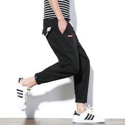 Besto - Drawstring Harem Pants