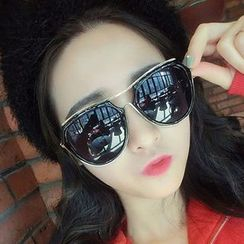 zolla - Mirrored Aviator Sunglasses