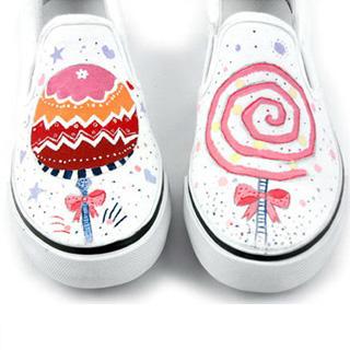 """HVBAO - """"Lollipops"""" Slip-Ons"""