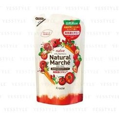 Kracie - Naïve Natural Marche Body Wash (Pomegranate and Strawberry) (Refill)