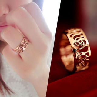 Clair Fashion - Floral Filigree Ring