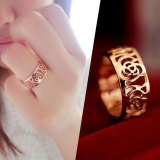 Clair Fashion - Floral Filigree Ring