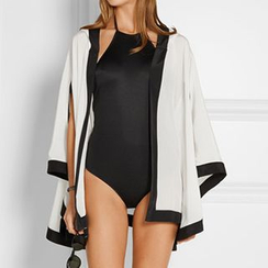 Sunset Hours - Hooded Chiffon Cover-Up