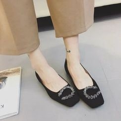 QQ Trend - Buckled Flats