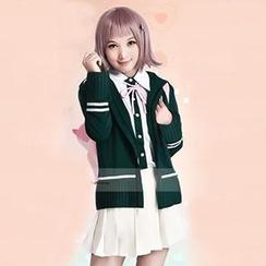 Coshome - Dangan-Ronpa Nanami Chiaki Cosplay Costume
