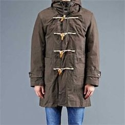 THE COVER - Hood Toggle-Button Lined Parka