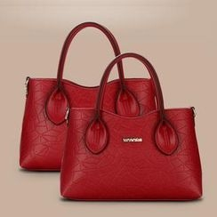 Rabbit Bag - Faux-Leather Embossed Tote