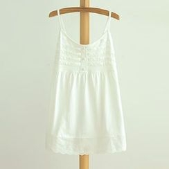 Angel Love - Embroidered Strappy Dress