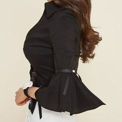 Amella - Bow-Accent Blouse