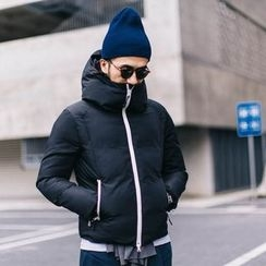 YIDESIMPLE - Padded Hooded Coat