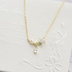 Love Generation - 18K Gold Plated Shell Necklace