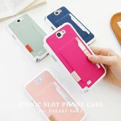 iswas - Galaxy Note2 Case with Card Holder