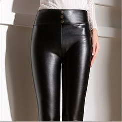 Daisyfield - Faux Leather Leggings