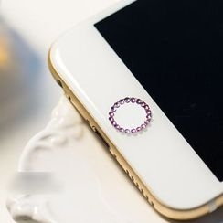 Wince - Rhinestone Home Button Sticker