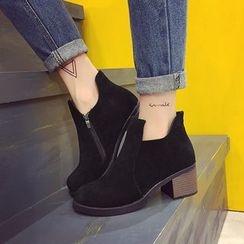 Chryse - 粗跟及踝靴