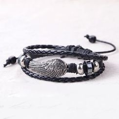 Trend Cool - Wing Layered Bracelet