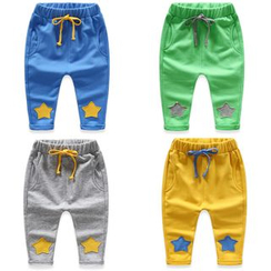 Seashells Kids - Kids Drawstring Star Sweatpants