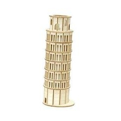 Team Green - Plywood Puzzle - Tower of Pisa