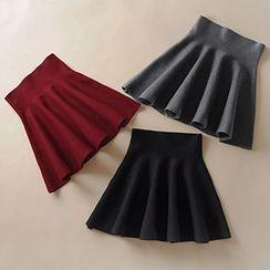 Hazie - A-Line Knit Skirt