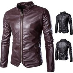 Hansel - Faux Leather Jacket