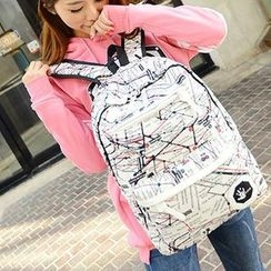 Miss Sweety - Canvas Printed Backpack
