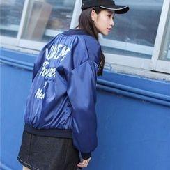 Ivena - Embroidered Zip Jacket