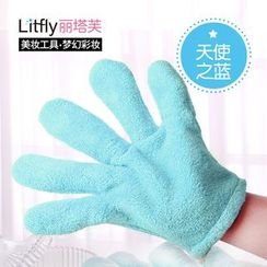 Litfly - Towel Gloves (Blue)