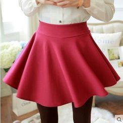 Breece - High Waist A-Line Skirt