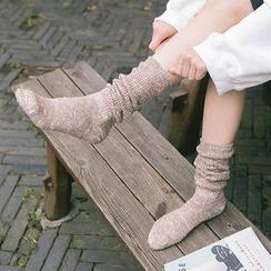 Cute Essentials - Melange Long Socks