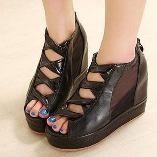 Pangmama - Wedge Sandal Boots