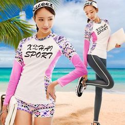 UniFIN - Wetsuit / Set: Rashguard + Swim Pants/ Swim Shorts